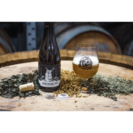 Anniversario 2020 (Sour Ale with local herbs and flowers) – Bottle 0,375 L – 7,4% Vol
