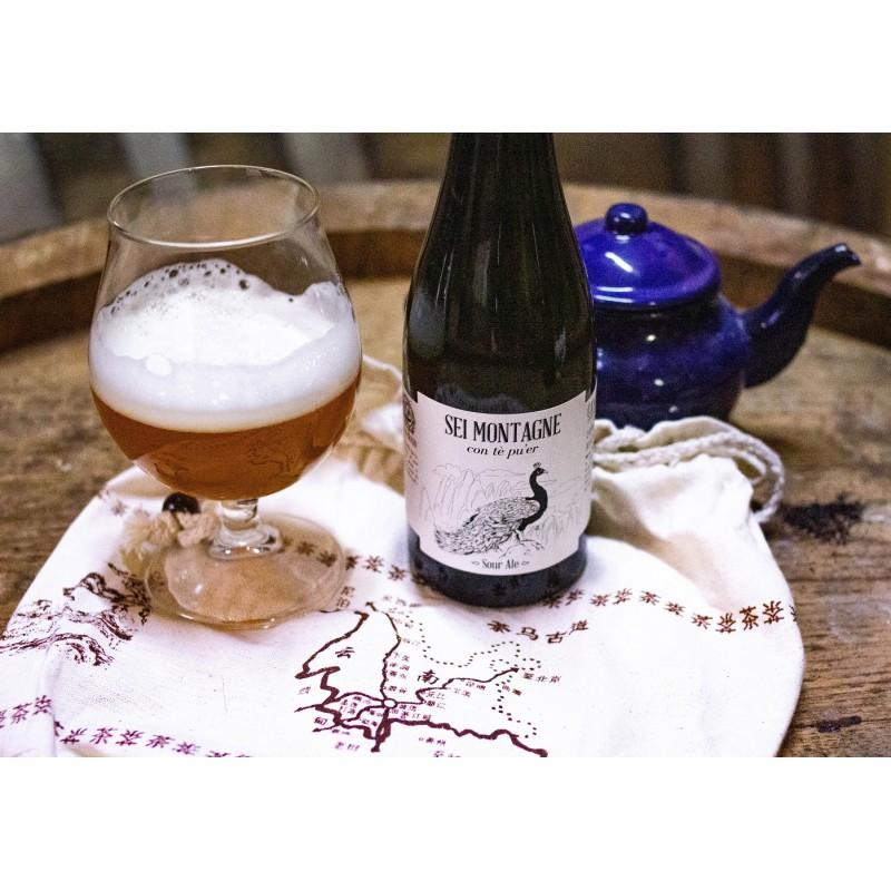 Sei Montagne (Sour Ale al tè pu'er) – Bottle 0,375 L – 7,4% Vol