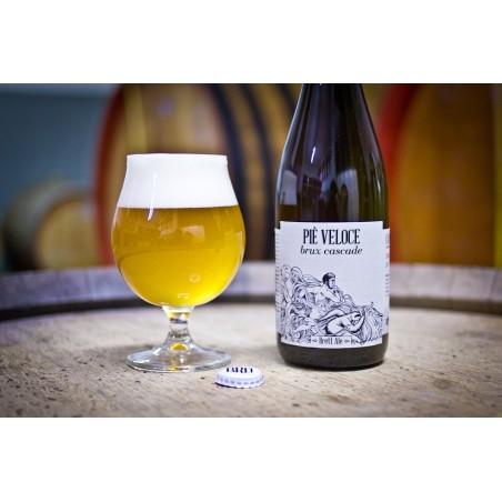 Piè Veloce Brux Cascade (Brett Ale) – Bottle 0,375 L – 7,4% Vol